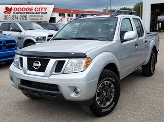 2018 Nissan Frontier PRO-4X | Leather, Bup Cam, Nav Crew Cab Pickup