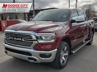 2019 Ram 1500 Laramie | Nav, Leather, Bup Cam Crew Cab Pickup