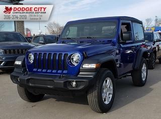 New 2020 Jeep Wrangler Sport S   4x4 for sale/lease in Saskatoon, SK
