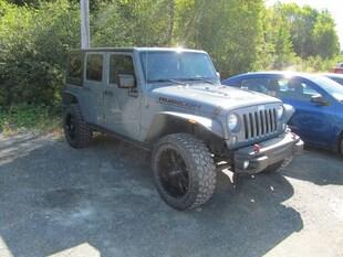 2015 Jeep Wrangler Unlimited Rubicon - Hard Rock Pkg / Navigation / Leather SUV