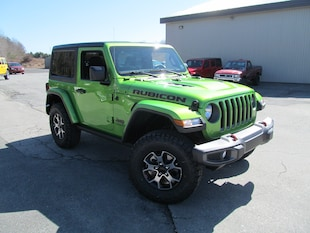 2019 Jeep Wrangler Rubicon - Leather / Mojito / Navigation SUV