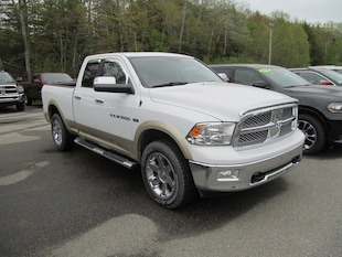 2011 Ram 1500 Longhorn - One Owner / Nav / Leather / Sunroof Quad Cab