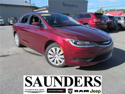2016 Chrysler 200 LX -Demo Sale - Save! Low kms Sedan