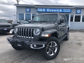 2021 Jeep Wrangler Unlimited Sahara 4x4