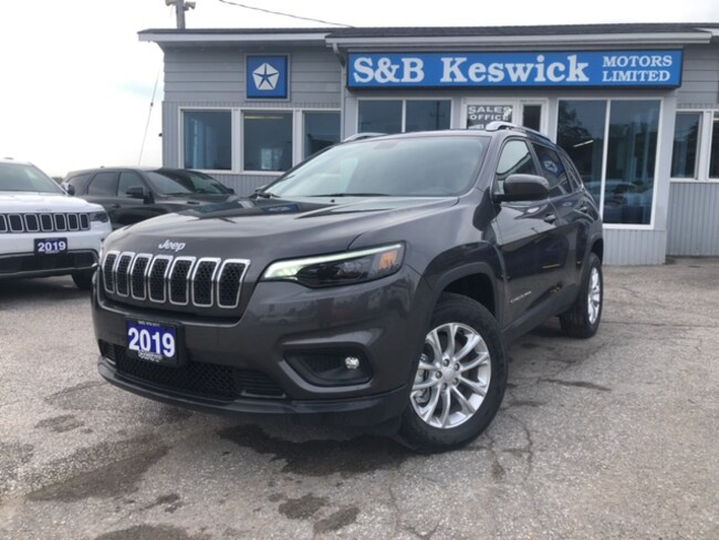 New 2019 Jeep New Cherokee North For Sale Keswick On