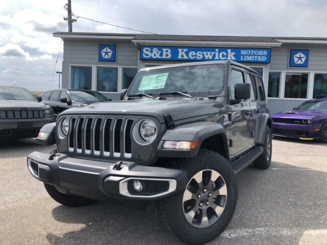 2019 Jeep Wrangler Unlimited Sahara SUV