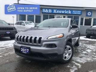 2017 Jeep Cherokee Cherokee Sport FWD SUV