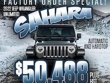 2022 Jeep Wrangler Unlimited Sahara 4x4 Sport Utility