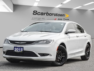 2015 Chrysler 200 Limited Heated Seats|Black Alloy Wheels|Bleutooth Sedan