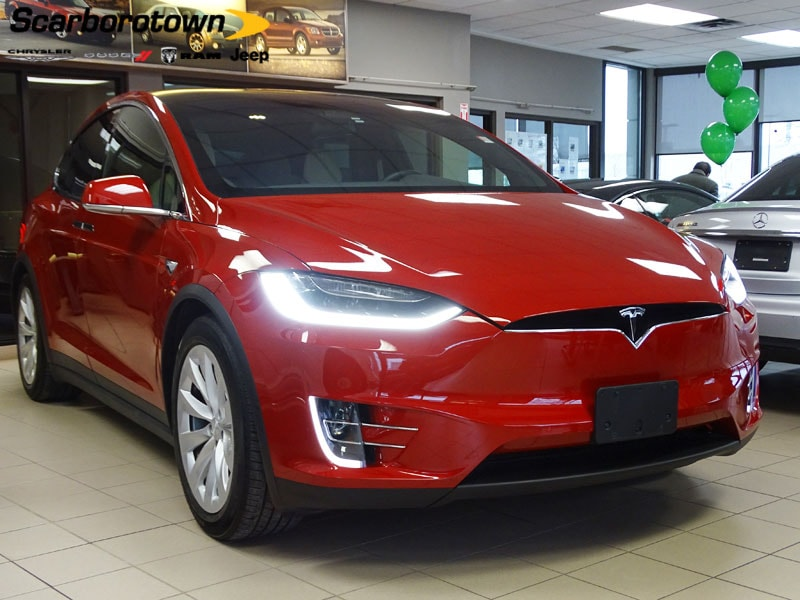 2016 TESLA MODEL X 60D AWD AUTO-PILOT-2| 1-OWNER SUV