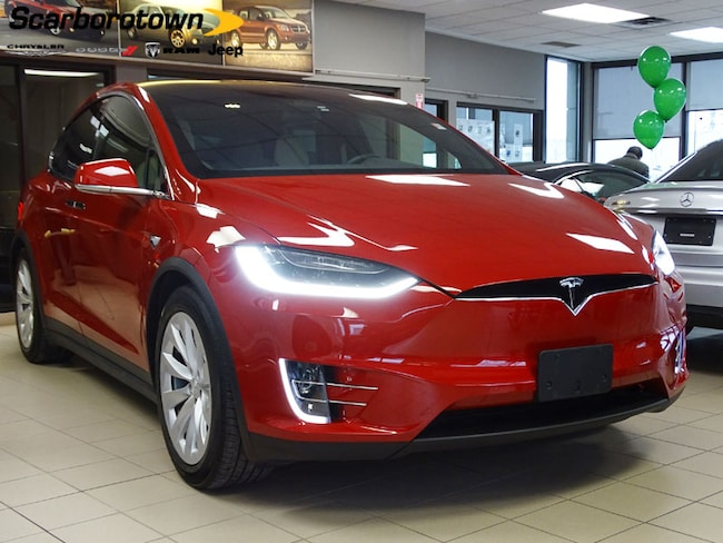 2016 TESLA MODEL X 60D+AWD+AUTO-PILOT-2+1-OWNER VUS