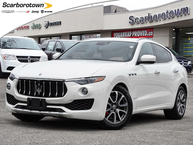 2018 MASERATI LEVANTE GRAN LUSSO NAV|Pano Roof|HTD+Vent Premium Leather Seats|Safety Tech PKG|360 Cam|Air Suspension+ Much More! SUV