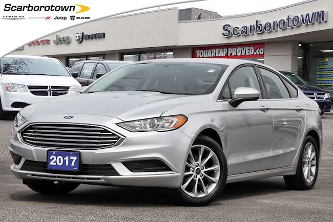 2017 Ford Fusion SE  1-Owner | Back Up Cam | Bluetooth | Summer+ Wi Sedan