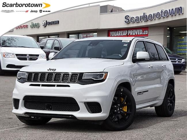 2018 Jeep Grand Cherokee Trackhawk 4X4 6.2L Hemi  Pano Sunroof+LTHR+Nav SUV