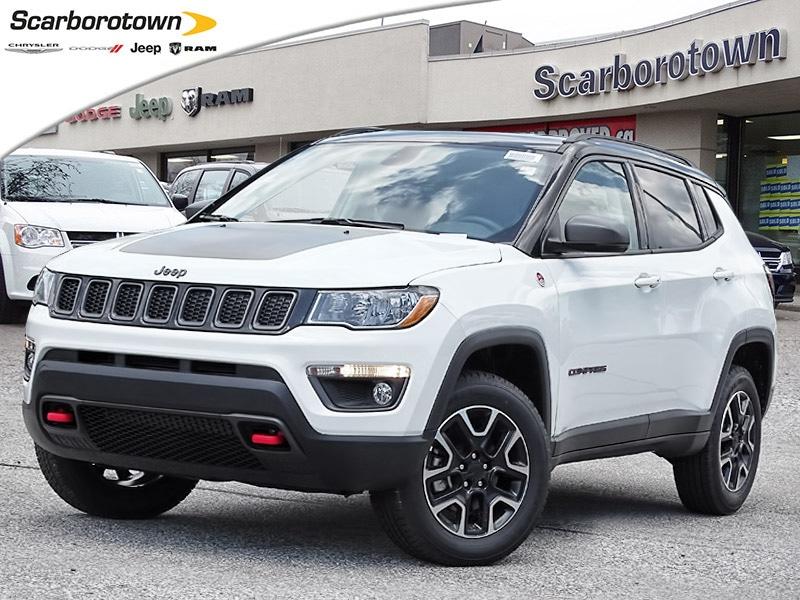 2019 Jeep Compass Trailhawk 4x4 NAV|Carplay|Back Cam|Bluetooth|Leath SUV