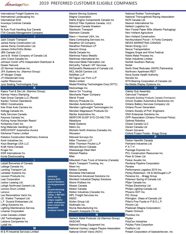 Chrysler & Affiliate Employee Pricing | Scarborotown Chrysler