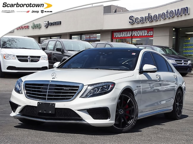 2015 Mercedes-Benz S-Class S63 AMG  1-Owner+New Tires+Winter Tires+Loaded Berline