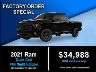 2021 Ram 1500 Quad Cab 4X4 Night Edition Quad Cab