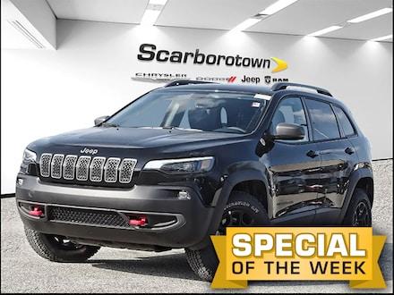 2020 Jeep Cherokee Trailhawk Elite 4X4 NAV Pano Roof Safety Tech PGK SUV