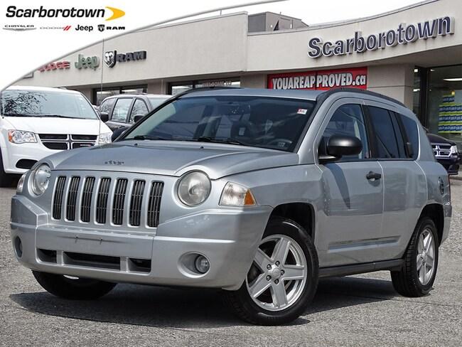 2007 Jeep Compass Sport/North Alloys|Htd Seats|Sunroof|Spare Tire|Ro SUV