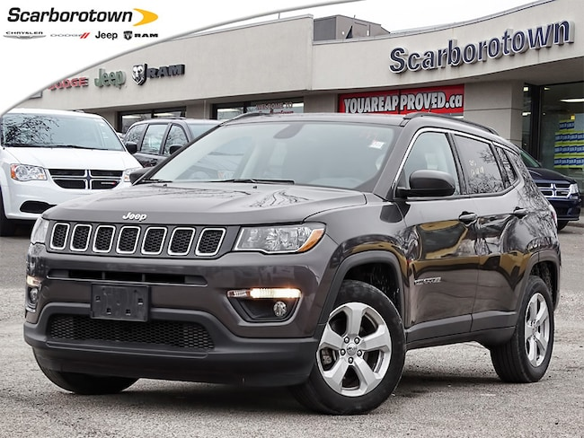 2018 Jeep Compass North 4X4 2.4L+9 Speed Auto+Great On Gas!! SUV