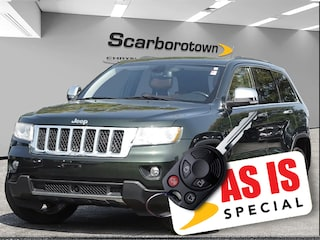 2011 Jeep Grand Cherokee Overland 4X4 Nav|DVD|Hitch|Sun Roof SUV