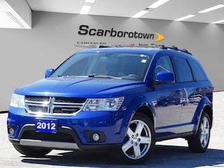 2012 Dodge Journey SXT Bluetooth|Alloys|5 Passenger|3 Keys! SUV
