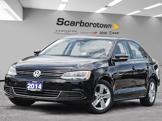 2014 Volkswagen Jetta 1.8 TSI Comfortline Sunroof|Htd Seats|Manual!  Sedan