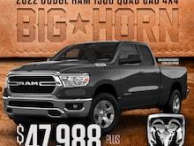 2022 Ram 1500 Big Horn Quad 4x4 4x4