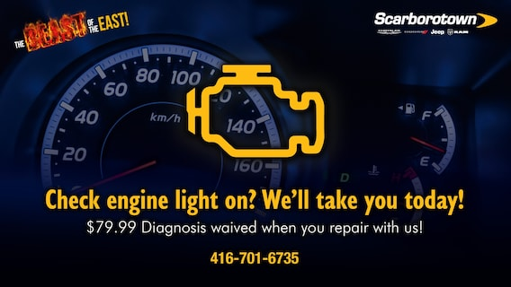 Check Engine Light Scarborotown Chrysler Dodge Jeep Ram
