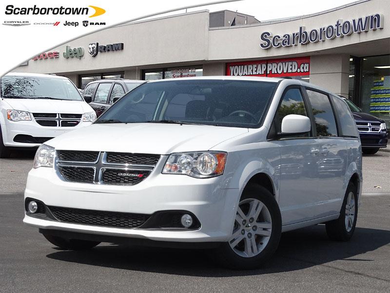 2018 Dodge Grand Caravan CREW  Stow N'Go|Bluetooth|Tri-Zone Temp Control Van