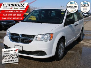 2020 Dodge Grand Caravan SE   - Heated Mirrors - $196 B/W Van