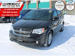 2020 Dodge Grand Caravan Premium Plus - Premium Package - $253 B/W Van
