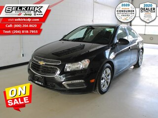 2015 Chevrolet Cruze 1LT  - Local - Remote Start - $86 B/W Sedan
