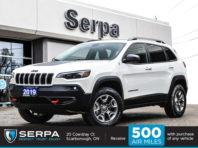 2019 Jeep Cherokee 4x4 Trailhawk Panoroof|Leather|Elite|Rearcam|8.4ca
