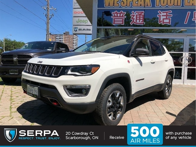2017 Jeep Compass 4x4 Trailhawk Nav|Panoroof|Safetygroup|Tow|Beats|B