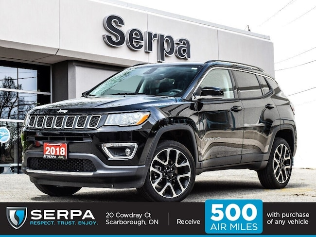 2018 Jeep Compass 4x4 Limited  NAV Panoroof 19S Rearcam Leather Powe