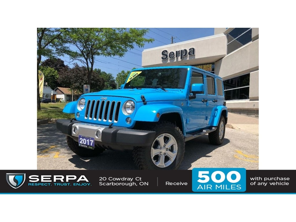 2017 Jeep Wrangler Unlimited Sahara Chief Edition Dual Top Bluetooth Leather Na SUV