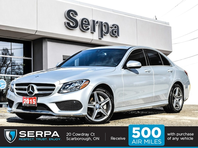 2015 Mercedes-Benz C300 4matic Sedan |Amgsportpack|Leather|Open-Porewood|