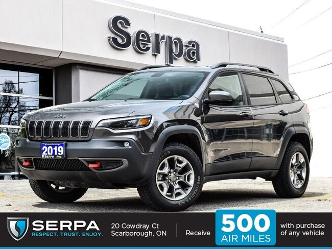 2019 Jeep Cherokee 4x4 Trailhawk |Leather|Elite|8.4inchscreen|Panoroo