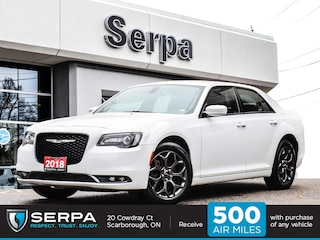 2018 Chrysler 300 S 300s AWD |8.4 Screen|Rear Cam|Leather|Heated Sea