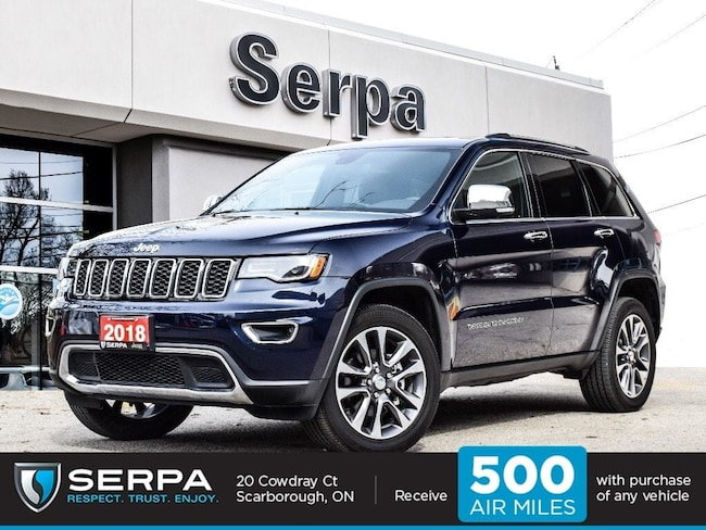 2018 Jeep Grand Cherokee 4X4 Limited |Nav|Panoroof|20S|Luxgroup2|Carplay|Ledfog