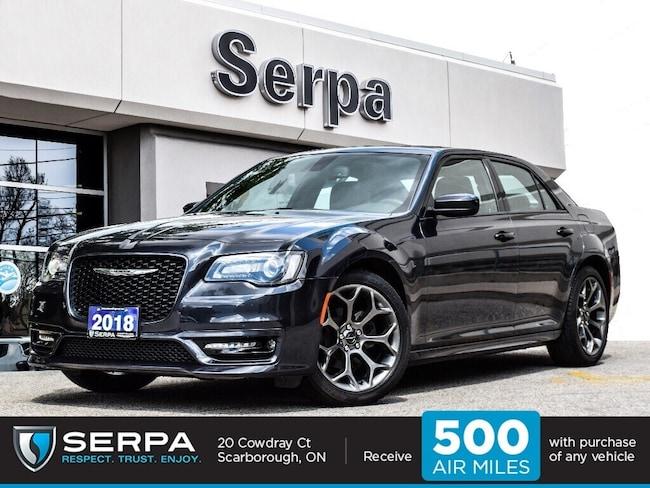 2018 Chrysler 300 S |NAV|Panoroof|Alpine|20S|Rearcam|Spoiler|Leather