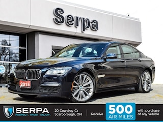 2015 BMW 750i xDrive Leather|NAV|Msport|21S|Mwheel|Hseat|Lowk|