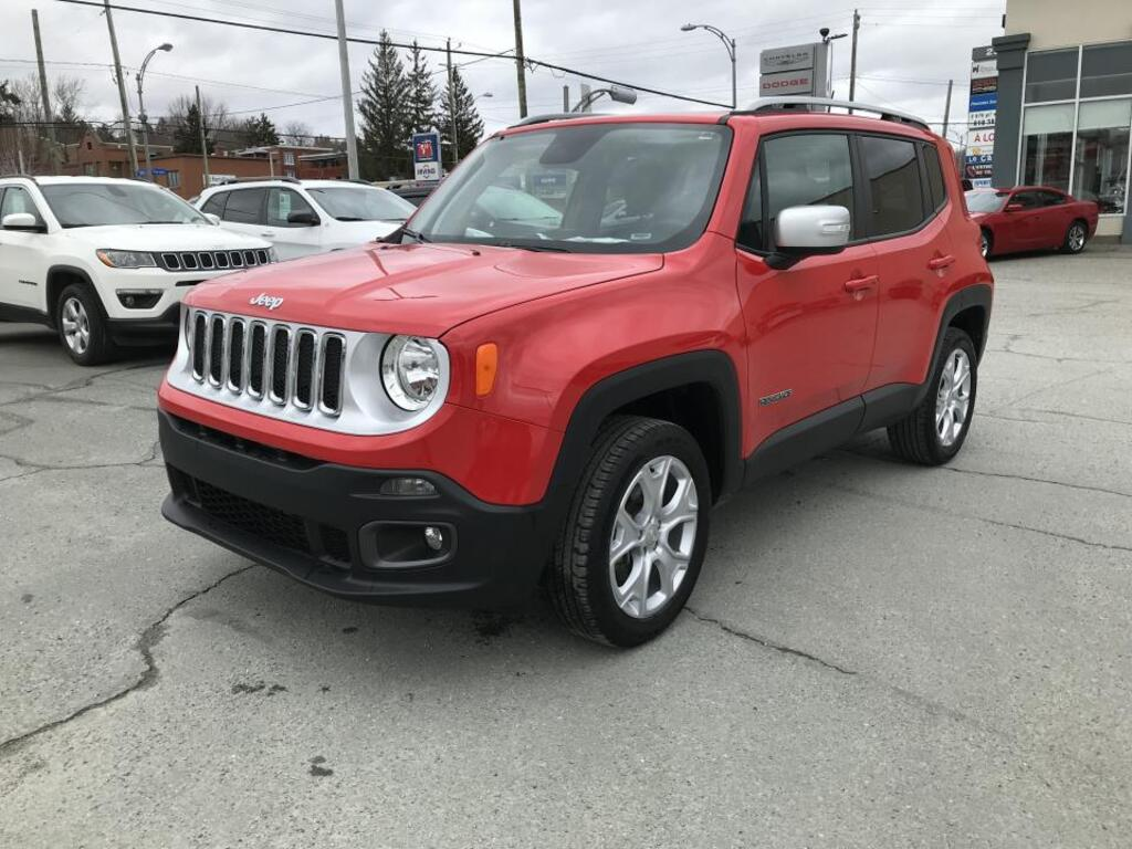 2018 Jeep Renegade Limited 4x4 Utilitaire