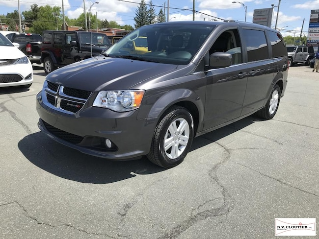 2018 Dodge Grand Caravan Crew Plus Minifourgonnette