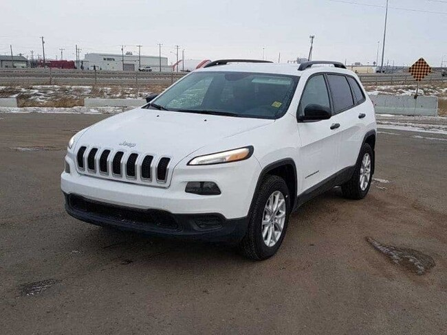 2018 Jeep Cherokee Sport Sport 4x4