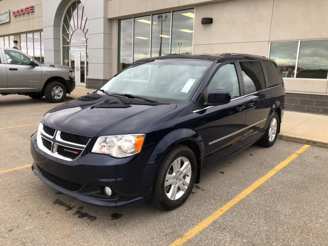 2016 Dodge Grand Caravan CREW PLUS,LEATHER,REAR DVD,NAVIGATION