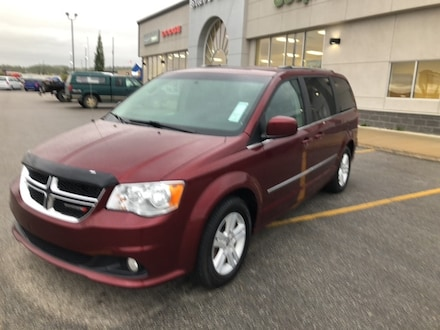 2017 Dodge Grand Caravan CREW,LEATHER,DVD,HEATED SEATS
