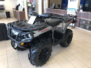 2017 CAN AM OUTLANDER XT QUAD